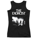 The Exorcist Poster Junior Women's Tank Top T-Shirt  Black