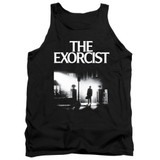 The Exorcist Poster Adult Tank Top T-Shirt Black