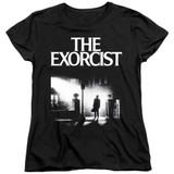 The Exorcist Poster Women's T-Shirt Black