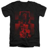 The Exorcist I'm Not Regan Adult V-Neck 30/1 Classic T-Shirt Black