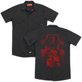 The Exorcist I'm Not Regan (Back Print) Adult Work Shirt Black