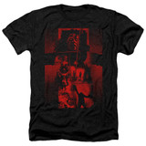 The Exorcist I'm Not Regan Adult Heather T-Shirt Black