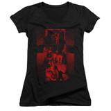 The Exorcist I'm Not Regan Junior Women's V-Neck T-Shirt Black
