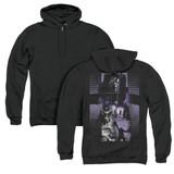 The Exorcist I'm Not Regan (Back Print) Zipper Hoodie Sweatshirt Black
