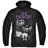 The Exorcist What An Excellent Day Adult Pullover Hoodie Sweatshirt Black