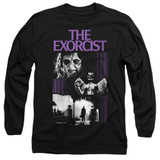 The Exorcist What An Excellent Day Adult Long Sleeve T-Shirt Black
