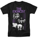 The Exorcist What An Excellent Day Adult 18/1 T-Shirt Black