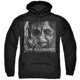 The Exorcist Regan Approach Adult Pullover Hoodie Sweatshirt Black