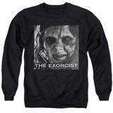 The Exorcist Regan Approach Adult Crewneck Sweatshirt Black