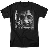 The Exorcist Regan Approach Adult 18/1 T-Shirt Black
