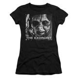 The Exorcist Regan Approach Junior Women's T-Shirt Black