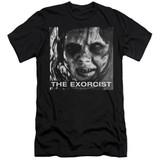 The Exorcist Regan Approach Adult 30/1 T-Shirt Black