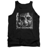 The Exorcist Regan Approach Adult Tank Top T-Shirt Black