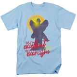The Exorcist Pazuzu Adult 18/1 T-Shirt Light Blue