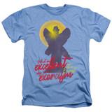 The Exorcist Pazuzu Adult Heather T-Shirt Light Blue