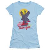 The Exorcist Pazuzu Junior Women's T-Shirt Light Blue