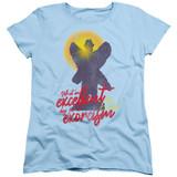 The Exorcist Pazuzu Women's T-Shirt Light Blue