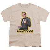 Happy Days Aaayyyyy Youth T-Shirt Sand