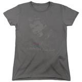 Happy Days Cool Fonz Women's T-Shirt Charcoal