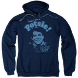Happy Days Don't Be A Potsy Adult Pullover Hoodie Sweatshirt Navy