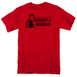 Happy Days Correct A Mundo Adult 18/1 T-Shirt Red