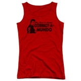 Happy Days Correct A Mundo Juniors Tank Top Red