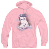 Happy Days The Coolest Adult Pullover Hoodie Sweatshirt Pink