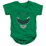 Power Rangers Green Ranger Baby Onesie T-Shirt Kelly Green
