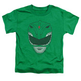 Power Rangers Green Ranger Toddler T-Shirt Kelly Green