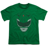 Power Rangers Green Ranger Youth T-Shirt Kelly Green