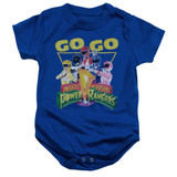 Power Rangers Go Go Baby Onesie T-Shirt Royal Blue