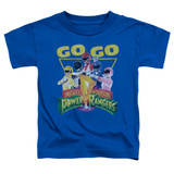 Power Rangers Go Go Toddler T-Shirt Royal Blue