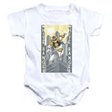Power Rangers White Ranger Deco Baby Onesie T-Shirt White