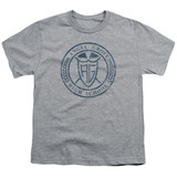 Power Rangers Angel Grove HS Youth T-Shirt Athletic Heather