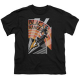 Power Rangers Black Ranger Deco Youth T-Shirt Black