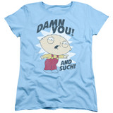 Family Guy And Such Women's T-Shirt Light Blue