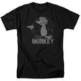 Family Guy Evil Monkey Adult 18/1 T-Shirt Black