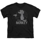 Family Guy Evil Monkey Youth T-Shirt Black