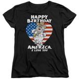 Family Guy American Love Women's T-Shirt Black