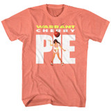 Warrant Pie Coral Silk Heather Adult T-Shirt