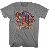 Styx Paradise Clouds Graphite Heather Adult T-Shirt
