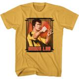 Bruce Lee Bruce Box Ginger T-Shirt