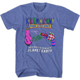 Killer Klowns Circus Is Coming Royal Heather T-Shirt