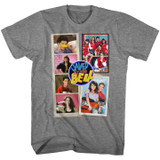 Saved By The Bell Scrapbook Graphite Heather T-Shirt