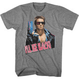 Terminator I'll Be Back Graphite Heather T-Shirt