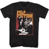 Pulp Fiction Shot Black T-Shirt