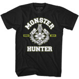 Monster Hunter MH2004 Black Adult T-Shirt