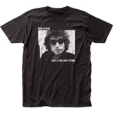 Bob Dylan Rolling Stone Fitted Classic Jersey T-Shirt