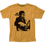 Bob Dylan Silhouette Fitted Classic Jersey T-Shirt