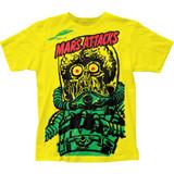 Mars Attacks Big Yellow Martian Big Print Classic Subway T-Shirt